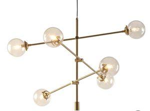 6 light Sputnik chandelier for Sale in Los Angeles, CA