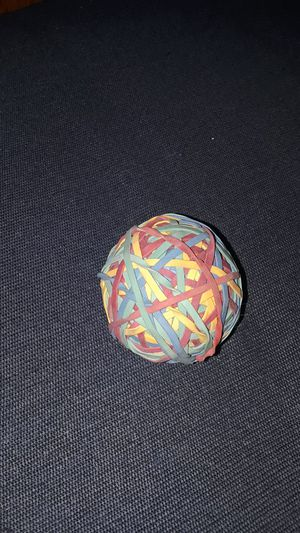 Rubber Band Ball for Sale in Orono, ME