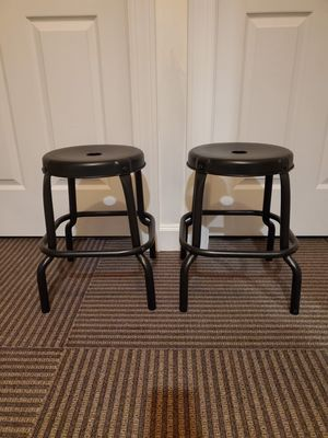 Like new industrial stools for Sale in Washington, DC