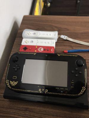 Nintendo Wii U Zelda Edition + Extras for Sale in Dallas, TX