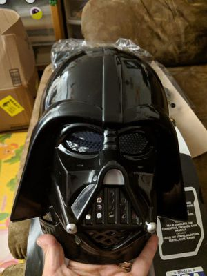 Darth Vader costume for kids 2t Halloween Star wars for Sale in Los Angeles, CA