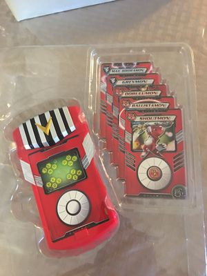 Digimon loader battle sounds with cards for Sale in Riverside, CA