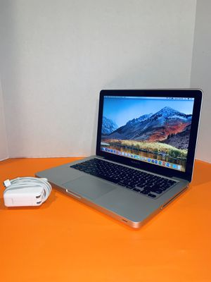 2010 Apple MacBook Pro laptop   Core 2 Duo   13 inches   500GB   8GB   DVD   Charger + Battery   macOSX High Sierra for Sale in Homestead, FL