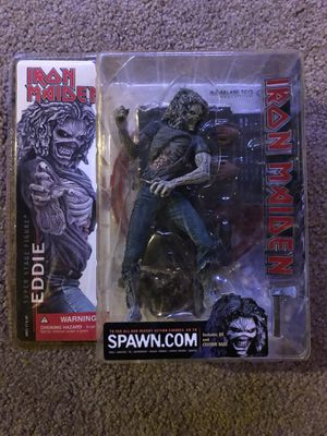 Iron maiden killers Eddie figure (1st edition McFarlane toys 2002) for Sale in Middletown, OH