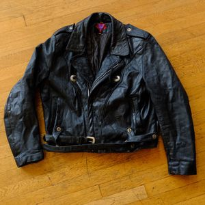 Women's med/large (44) leather jacket for Sale in Portland, OR