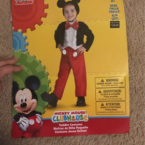 2T Mickey Mouse Toddler Costume for Sale in Phoenix, AZ