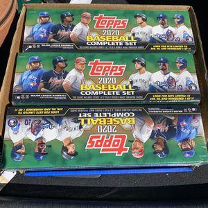 Topps Baseball Complete Set 2020 Walmart Exclusive for Sale in Silverado, CA