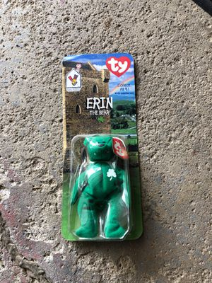 Tiny Beanie Baby' Erin The Bear' for Sale in Strongsville, OH