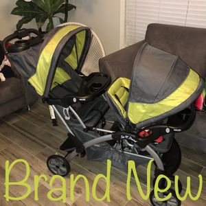Baby Trend Sit N Stand Double, Carbon for Sale in Phoenix, AZ