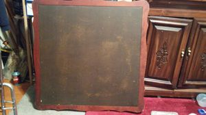 Antique card table with vinyl surface for Sale in Pittsburgh, PA