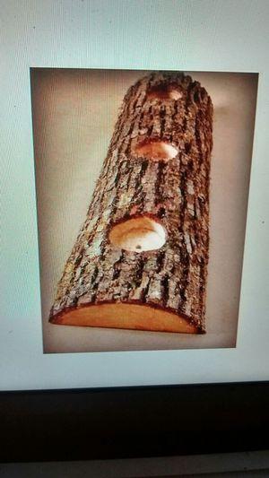 Log Candleholder / Centerpiece for Sale in Portland, OR