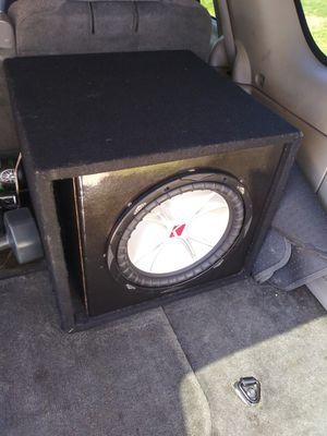 12 in kicker CVR subwoofer for Sale in Columbus, OH