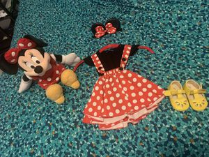 Minnie Mouse costume - 6-12 months for Sale in Miami, FL