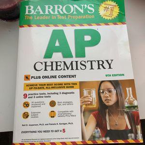 Baron 2020 AP Chemistry Test Prep for Sale in Pompano Beach, FL