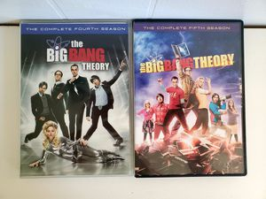 Big Bang Theory Seasons 4 & 5 for Sale in Holland, MI