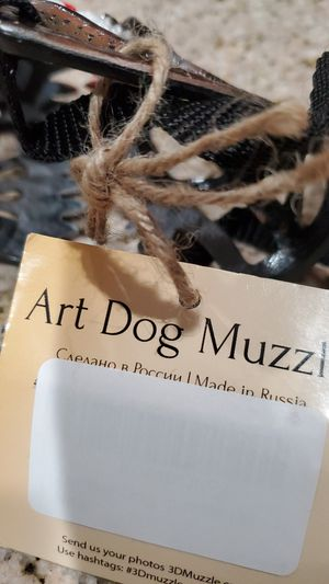 Dog Muzzle. Art dog muzzle for Sale in Corona, CA