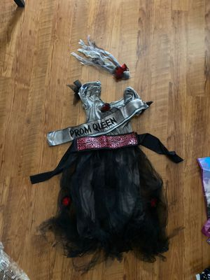 Corpse Prom Queen child costume for Sale in Chandler, AZ