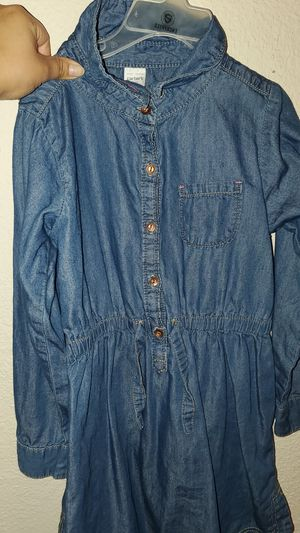 Girl's Carter's Denim dress size 7 for Sale in Vallejo, CA
