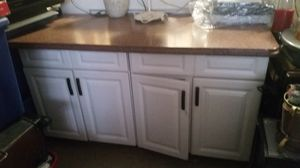 Beautiful all Marble counter top, customized roomy Kitchen island, bottom carbinets 5ft long, 3ft high & 2 1/2 deep. 3pc. unit comes apart. Thx. for Sale in New York, NY