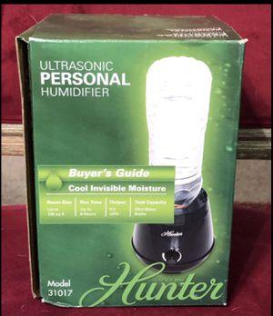 Hunter Home Comfort QLS03-BK Hunter QLS03 Ultrasonic Personal Air Humidifier for Sale in Austin, TX