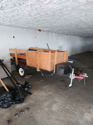 Utility trailer w/ title for Sale in Bridgeport, CT