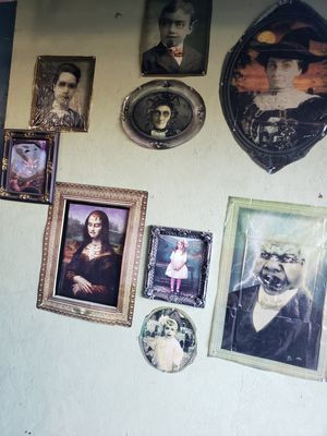 Halloween Haunted House Interior Wall with Drop Down Picture for Sale in Mesa, AZ