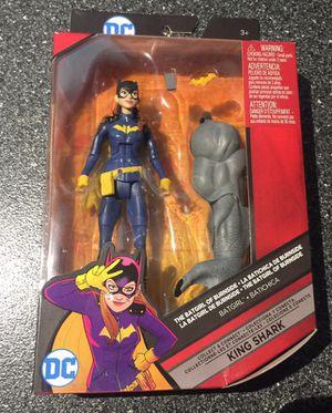 Batgirl 6 inch D.C. Comics multiverse action figure batman collectible figure king shark build a figure piece for Sale in Queens, NY