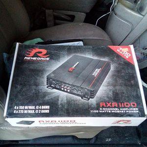 1100 watt 4 channel amplifier for Sale in Mesa, AZ