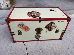 Girls doll travel chest toy vintage box antique for Sale in Atlanta, GA