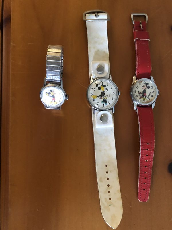 Vintage Classic Mickey Mouse Watches