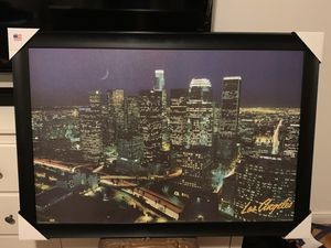 Large Los Angeles Night City Photograph for Sale in Temple City, CA