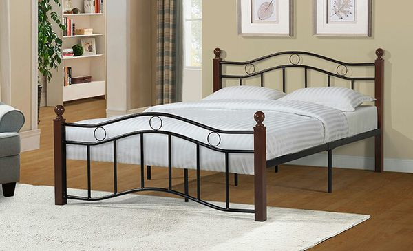 NEW Full Size Metal Bed Frame Mattress include