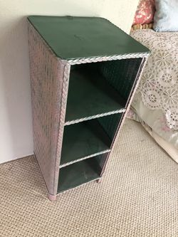 Small vintage wicker shelf for Sale in Austin,  TX