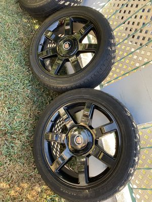 22 inch Escalade rims 6 lugs for Sale in Bell Gardens, CA