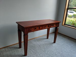 Wooden desk/entry table for Sale in Seattle, WA