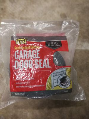 Garage door seal - brand new for Sale in Seattle, WA