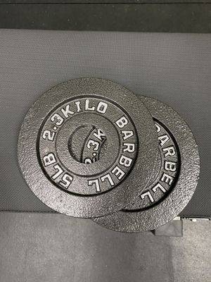 5lbs pair Olympic weights for Sale in Fullerton, CA