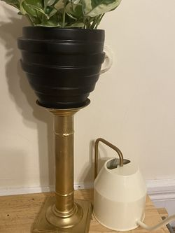 Beautiful Gold pier1 Imports Plant Stand / Candle Holder for Sale in Cambridge,  MA