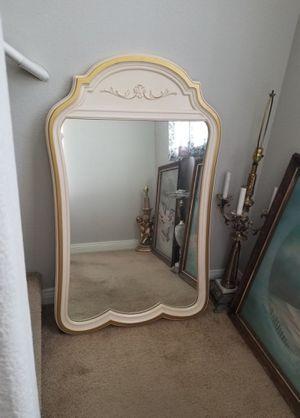Huge dressing room mirror antique French provincial Drexel furniture for Sale in Las Vegas, NV
