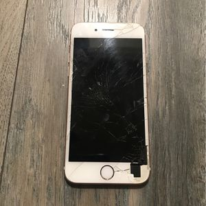 Cracked iPhone 6 S for Sale in Santa Fe Springs, CA