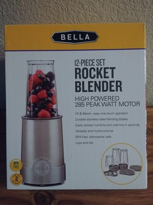 NEW 12 pcs rocket blender for Sale in Corona, CA