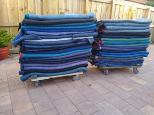 Moving blankets for Sale in Fort Lauderdale, FL