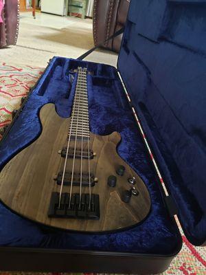 Schecter Apocalypse C4 bass guitar with brand new case for Sale in Stockbridge, GA