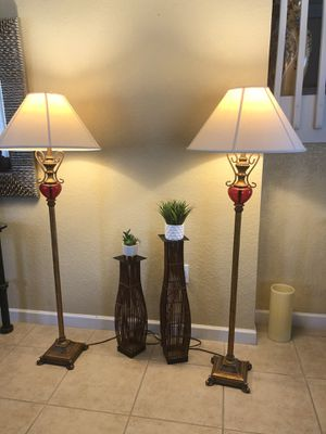 Gold lamps set of 2 for Sale in Miami, FL