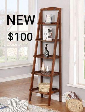 Ladder Shelf in Oak Finish for Sale in Ontario, CA