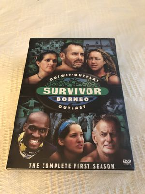Survivor Borneo DVD for Sale in Pasadena, TX