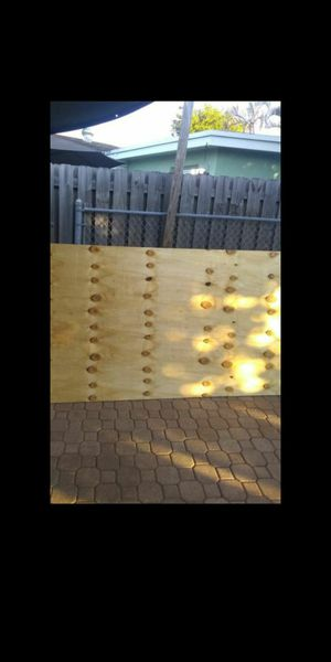 5/8 plywood $20 per sheet brand new for Sale in West Palm Beach, FL
