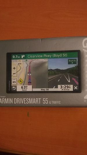 garmin drivesmart 55 and traffic gps for Sale in El Monte, CA