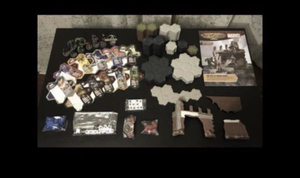 Marvel Hero Scape The Conflict Begins Board Game