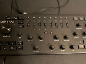 Loupedeck Plus LDD-1801 Precision Video Editing Console for Live Streaming for Sale in Los Angeles,  CA